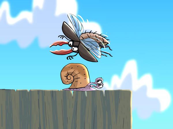 жук летит