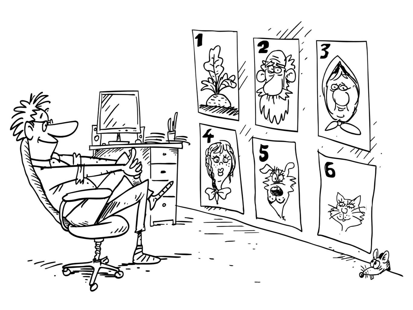 схема мультфильма